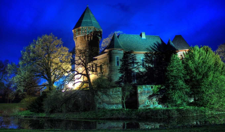 german, castle, замки, krefeld,