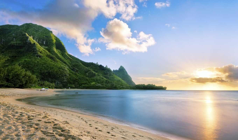 море, пляж, narrow