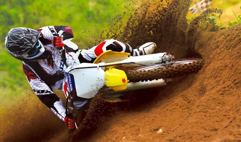 motocross, картинка, suzuki, вид, сюжет, красиво, bikes, rmz, race, sportbike, cycle,