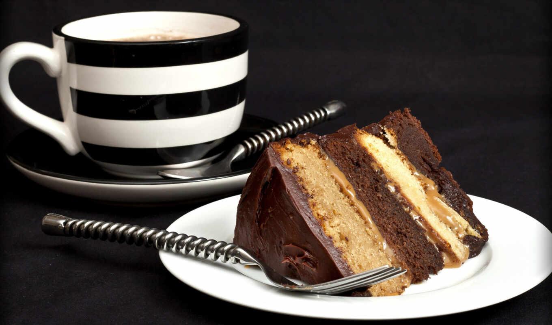 торт, день, birth, vnuchek, chocolate, postcard, slice, cup