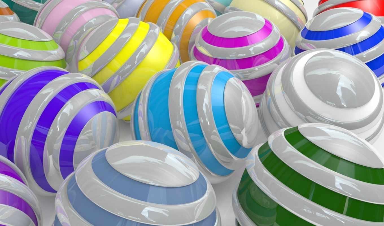 spheres, шарики, abstract, полоски, wallpaper, wallpapers, colorful, desktop, balls, cool,