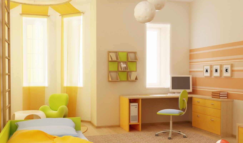 детская, комната, дизайн, интерьер, квартира, стиль, кровать, мяч, детской, комнаты, только, фен, шуй, книги, кресло, можно, которая, картинку, мебель, компьютер, зелёная, если,