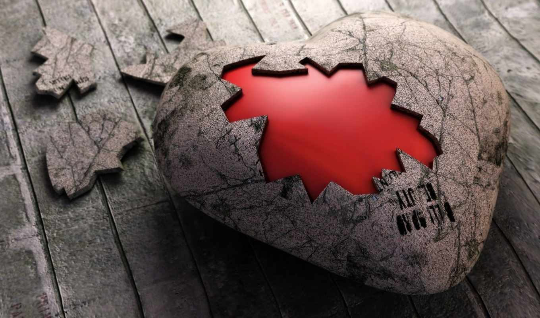 сердце, доски, корка, broken, love, valentines, day, تکه, смотрите, duvar,