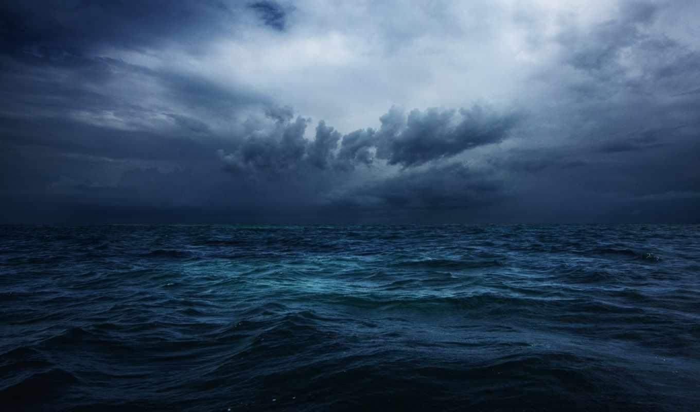 ocean, буря, океане, июня, лодках, провел, life, лодке, indian, небо, всю, облака, свою,
