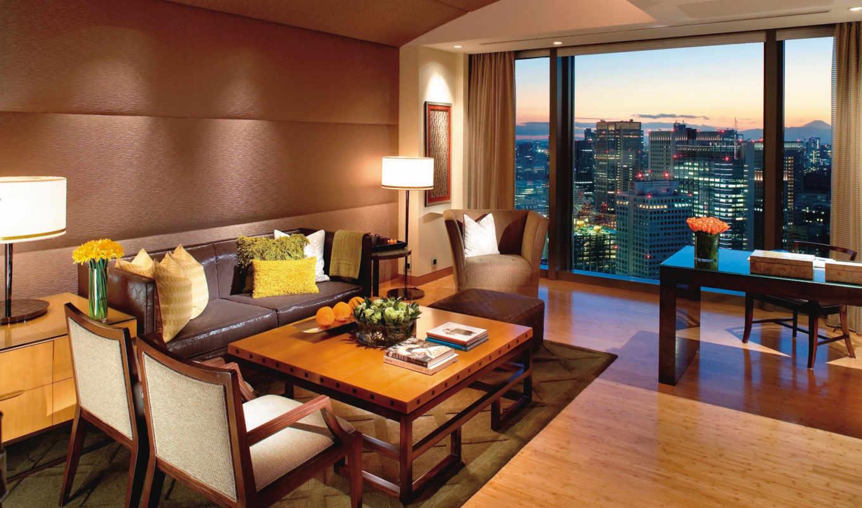 tokyo, mandarin, oriental, комната, hotel, design,