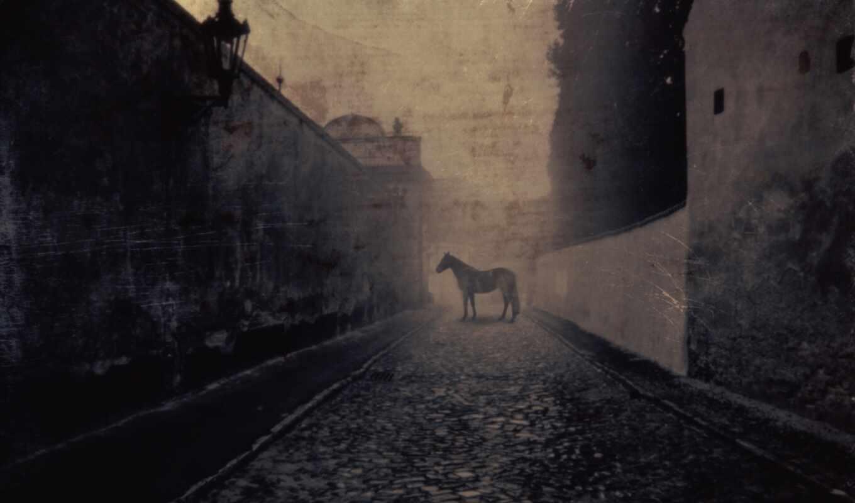 часы, лошадь