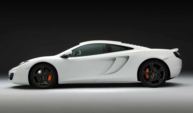 mclaren, white, cars, car, auto, supercar, supercars,