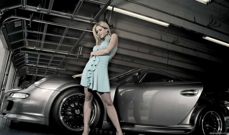 девушки, машины, авто, красивые,