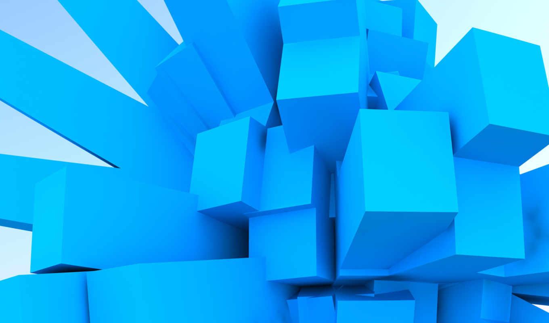 würfel, blaue,