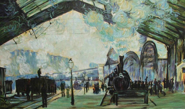 painting, claude, monet, impressionist,