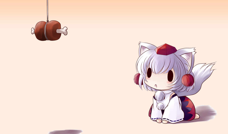 touhou, momiji, inubashiri, art, fan, game, post,
