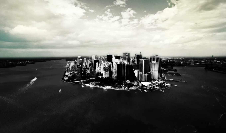 new, black, white, york, pack, web, город,