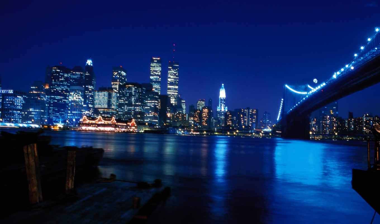 york, нью, ночь, высотки, город, nightlife, которые, хотят, красивый,