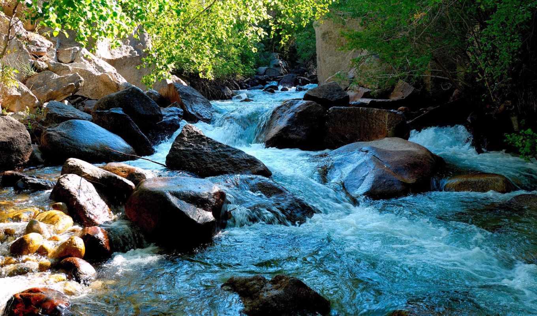 река, горная, марта, вконтакте, природа, бурная, широкоформатные,