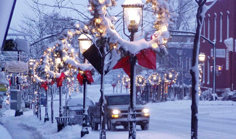 winter, new, год, ночь, дек, зимняя, красивые, часть, важливо, природа,