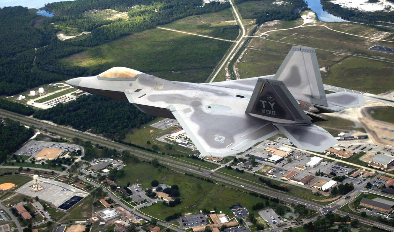 air, сила, tyndall, base, raptor, squadron, истребитель, впервые, тренировочный,