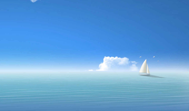 sea, ships, нравится, кораблик, barco, desktop, blue, navegando, clouds, sail, ocean, изображение, free, skyscapes, boat, piła, projektowanie, está, iphone,