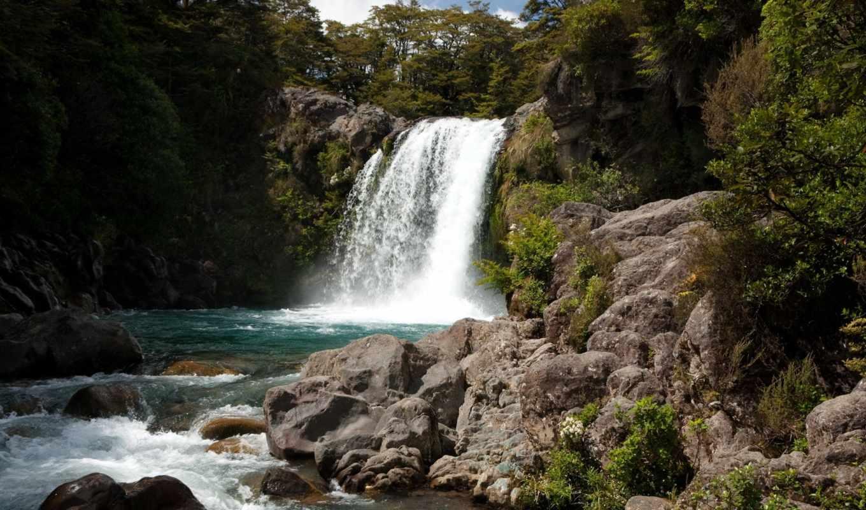 природа, водопады, плитвицкие, озера, хорватия, камни, австрия, ручей, лес, река,