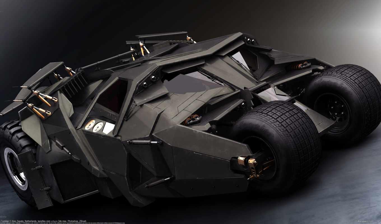 авто, бэтмен, бэтмобиль, свой, wpapers, совершенно,