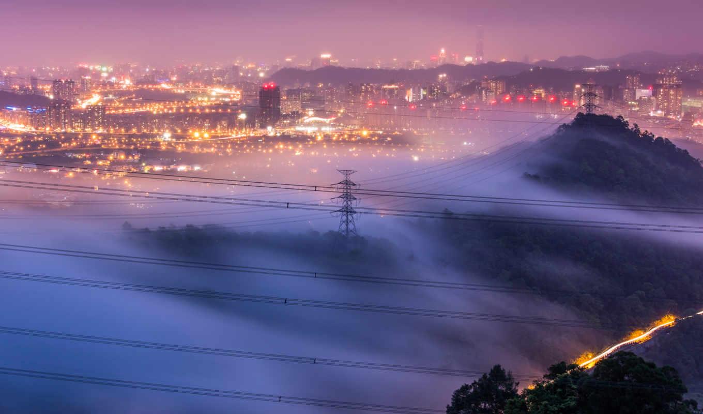 город, china, taiwan, taipei,