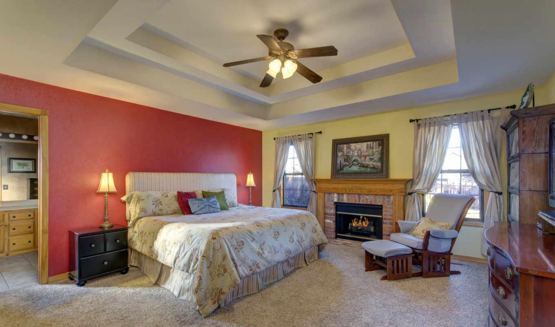 design, комната, интерьер, кровать, stylish, living, картинка, спальня,