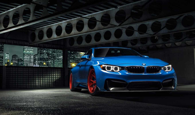 bmw, vorsteiner, gtrs, coupe, голубой, blue, тюнинг, m4, f82,