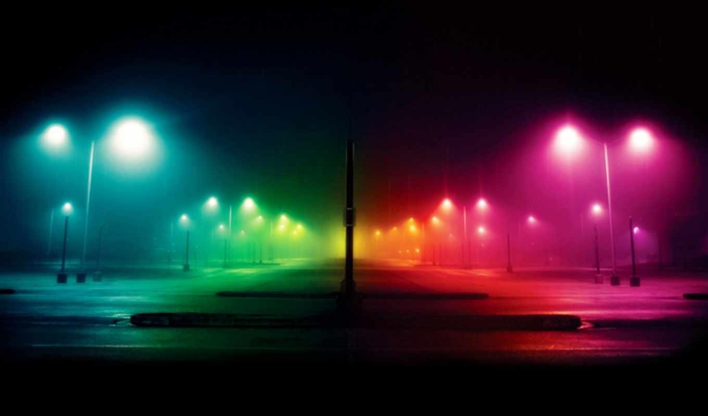 ночь, фонари, улица, категория, огни, города,