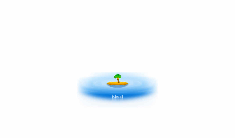 island, desktop,