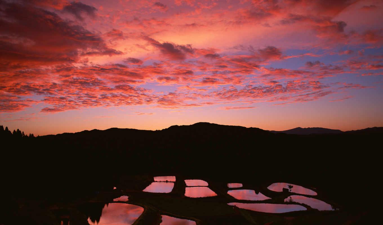 japan, fields, meadows, nature, play, slideshow, download, sky, японии, clouds, like, луга,