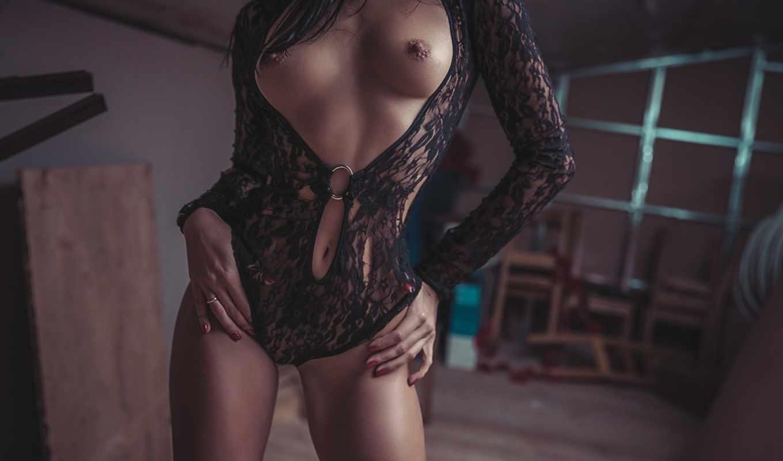боди,тело,белье,черное,грудь,