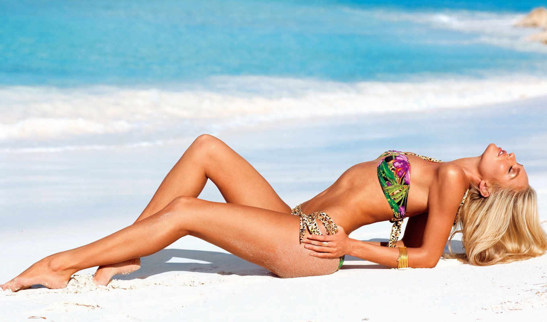 модели, пляже, victoria, secret, лета, again, купальниках,