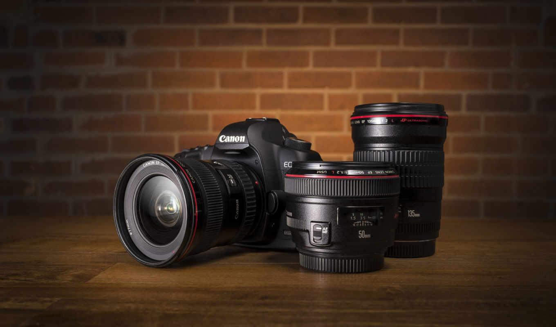 фотоаппарат, canon, объектив, eos, марк,