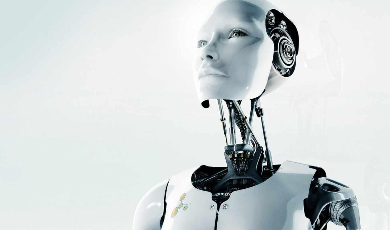 robot, механизм, white, взгляд, чёрно, подборка, красивый,