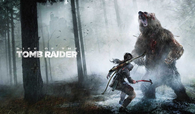 крофт, raider, tomb, лара, взлёт, сибирь, игры, будет,