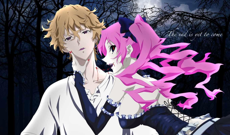 anime, shiki, усопшие, труп, demons,