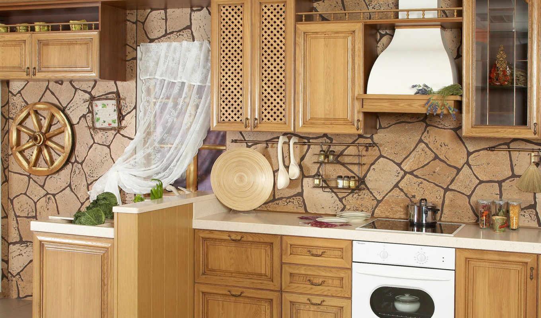кухни, от, кухне, стен,