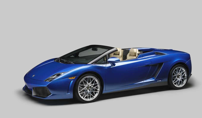 gallardo, spyder, car, blue, you, jet, if, нояб, ski, drive, wheel, with, open, photo,