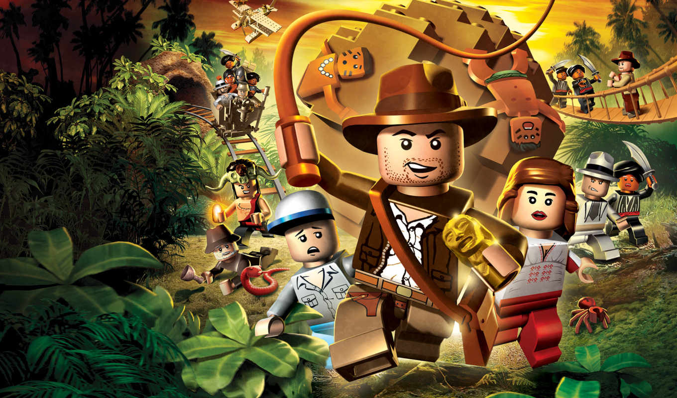 indiana, jones, lego, игра,