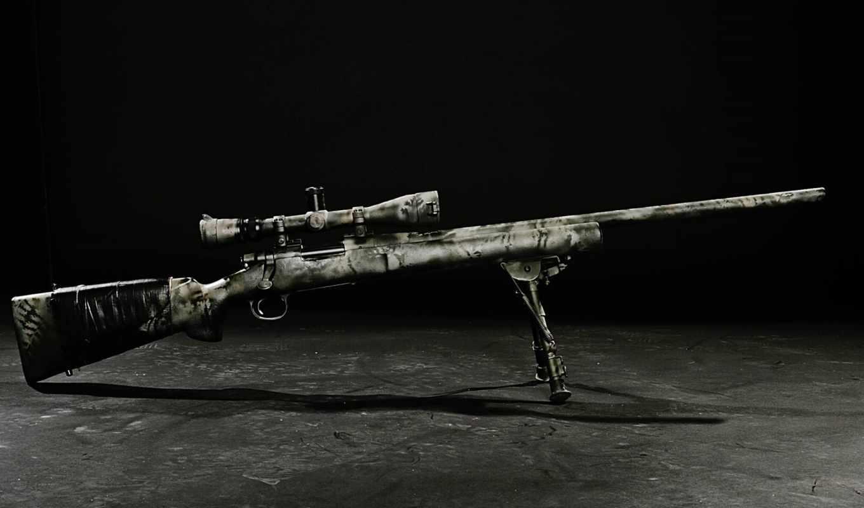 прицел, винтовка, чёрнобелый, кадр, оптика, снайперская, картинка, bild,