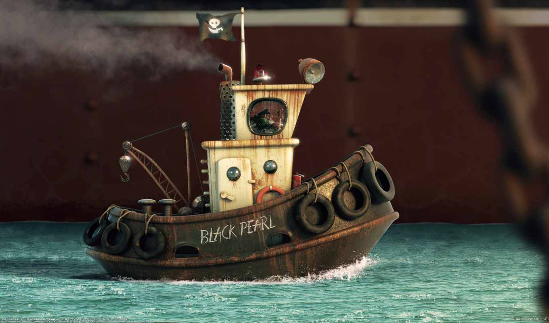 pearl, black, toy, корабль, фильма, caribbean, пираты, pirates, черная,