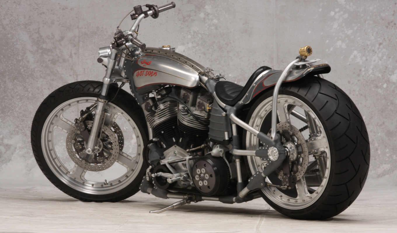 мотоцикл, custom, hot, док, cycles, байк, мотоциклы,