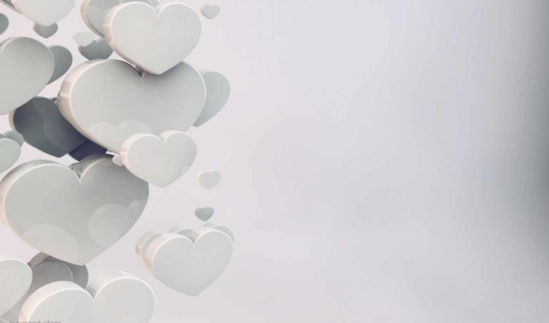 сердце, любовь, 3Д