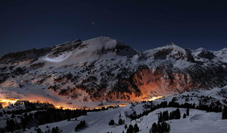 ecran, fonds, alpes, fond, природа, sur, hiver, изображение,