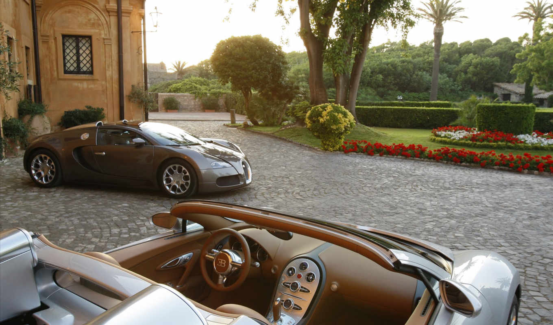 bugatti, veyron, спорт, grand,