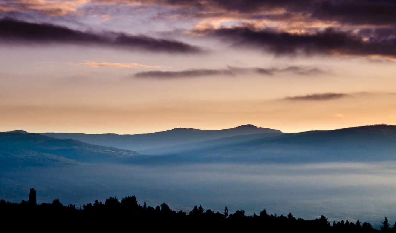 诺基亚e, resolution, обои, mountains, pixels, landsca