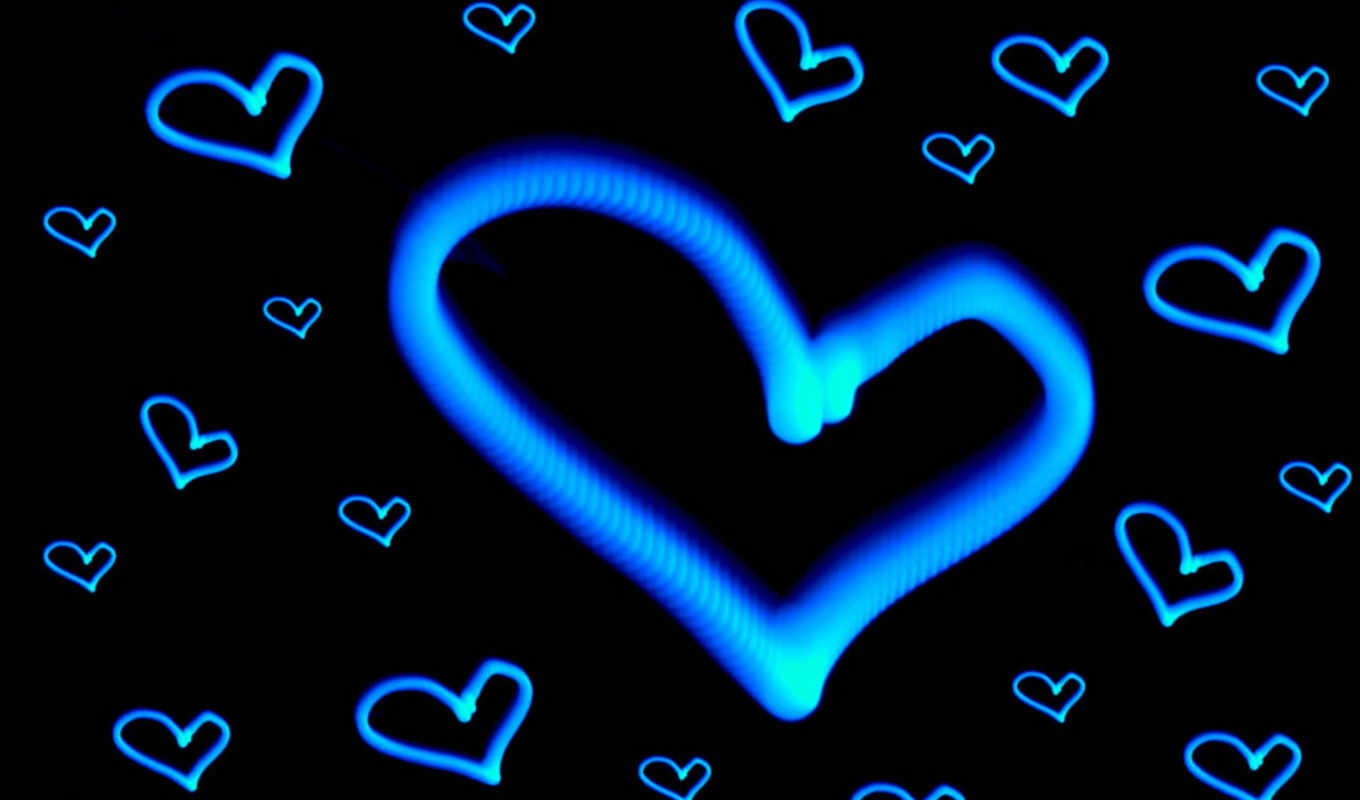 free, heart, blue, desktop, love, background, hearts, abstract, download, creative, full, romantic, with,