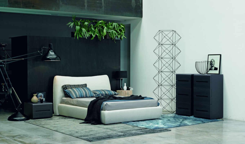 interer, современный, dizain, спальня, февр,