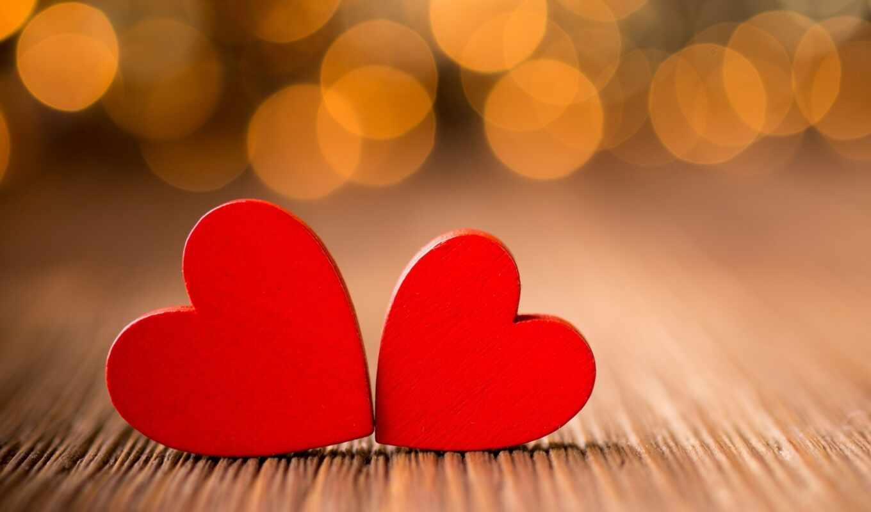 ,сердечки, красные, ваниль, блики,