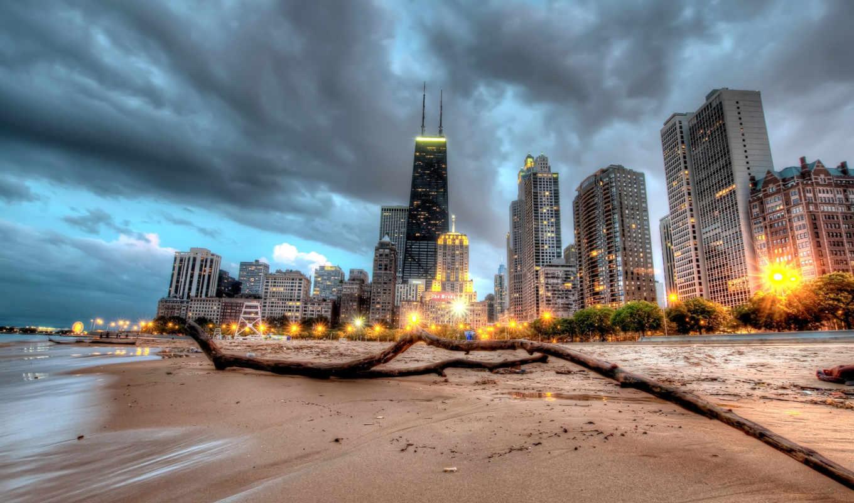 chicago, usa, небоскрёб, ultra, города,
