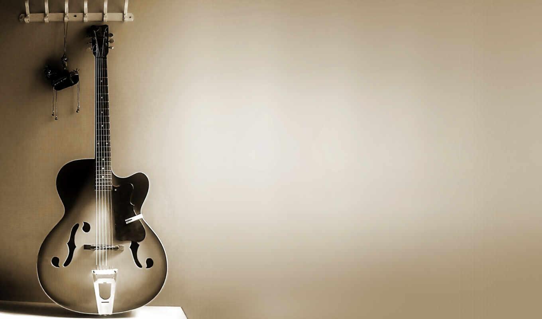 гитара, desktop, free, ваниль, рэтро,